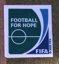 Patch FIFA FOOTBALL FOR HOPE TOPPA Confederations cup & Fifa Club World Cup