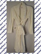 Womens Belted Spa Robe Plush Cream Tie Front Size XXL Free Shipping @ Cargo Bay