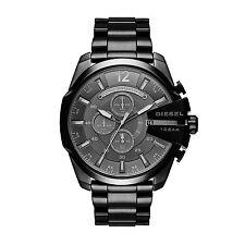 Diesel DZ4355 Herrenuhr Edelstahl schwarz Mega Chief Chronograph Armbanduhr Uhr