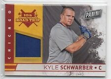 KYLE SCHWARBER 2016 PANINI FATHERS DAY PLAYER WORN RELIC SP CHICAGO CUBS HOT!!!!