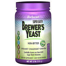 Bluebonnet Super Earth Brewer's Yeast - 2 Pound Powder