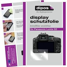 6x dipos Panasonic Lumix DMC G3 Film de protection d'écran cristal clair