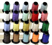 20 Spools COUNTRY COLORS Polyester Embroidery Machine Thread