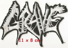 Grave - logo shape patch - FREE SHIPPING