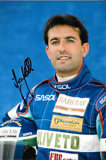 Ivan Capelli SIGNED ,F1 Sasol-Jordan Team Portrait 1993