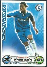 TOPPS MATCH ATTAX 2008-09-CHELSEA & IVORY COAST-DIDIER DROGBA
