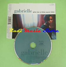 CD singolo GABRIELLE GIVE ME A LITTLE MORE TIME 1996 GERMANY 850 467-2 (S17)