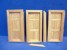 1/12 scale Dolls House Internal Doors   Pack off 3  TC6007