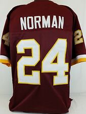 Josh Norman Unsigned Custom Burgundy Football Jersey Men's Size XL