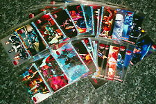batman & robin widevision trading card dc comics wtih insert cards