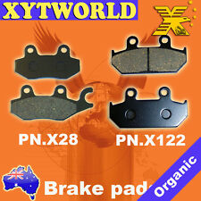 Front Rear Brake Pads for CAGIVA Canyon 500 1996-2000