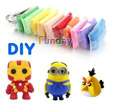 Air Dry Playdough Light Soft Modeling Clay DIY Foam Plasticine Educational Toy