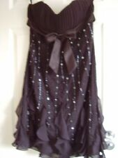 Womens black dress,party-special occasion,size 10 UK,Magic Nights,new