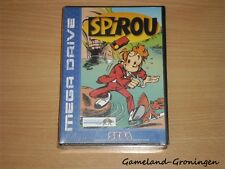 Sega Megadrive Game: Spirou (NEW/SEALED) --RARE--