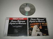 OSCAR PETERSON/DIGITAL AT MONTREUX(PABLO/J33J-20014)JAPAN CD ALBUM