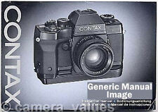 Contax 167MT Instruction Book, More Camera Manuals & Operating Guides Listed
