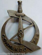 Insigne Commando de Chasse 8° ZOUAVES Algérie AFN  ORIGINAL !!! Arthus Bertrand