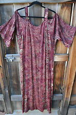 SALE! ART TO WEAR SAHARA SLIM DRESS IN CHESTNUT BY MISSION CANYON, ONE SIZE,NWT!