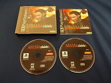 COVERT OPS: NUCLEAR DAWN Playstation game COMPLETE! Tested & Works PS1