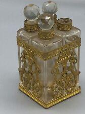Superbe Nécessaires À Sels Ou À Parfums Époque Romantique Charles X Directoire