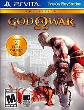Brand New God of War Collection for PS Vita, New, Factory Sealed!!! 2 Full Games