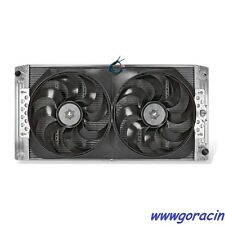 Direct Fit Aluminum Radiator-Electric Fans Fits 1999-2012 Chevy-GMC,Trucks,SUV~