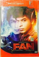 FAN DVD - SHAHRUKH KHAN - 2016 HINDI MOVIE 2-DISC SPECIAL EDITION MULTI SUBTITLE