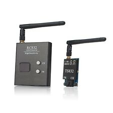 AKK 5.8G FPV 2000M Range TS832+RC832 Audio Video Transmitter and Receiver for...