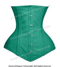 Heavy Duty 26 Double Steel Boned Waist Training Cotton Underbust Corset 8554(TC)