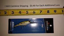 Granite River Outdoors Red Eye Shad fishing lure crankbait 3 1/2 inches