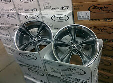 20x8.5 20x10 Boss 338 Gray 5-5 5-127 (Staggered 20'' C10 Package)