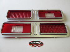 1973 1974 73 74 NOVA NEW PAIR OF TAILLIGHT LENSES GM AUTHORIZED RESTORATION PART
