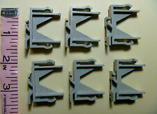 Lot of (6) Six Vertical Blind VALANCE CLIPS