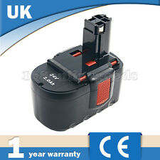 24V 2A Ni-Cd Battery for Bosch PSB 24VE-2, SAW 24V, BAT031, BAT240 Drill