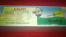 "Brodak  ""Galaxy""  C/L model Airplane kit. NIB"