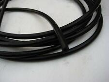 2 Metres of Conductive rubber tube- Tens Estim 6.5mm o/d x1.75mm i/d (8 Clips)