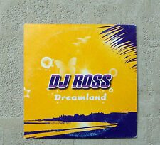"DJ ROSS ""DREAMLAND"" CD SINGLE 2T 2003 ITALODANCE ELECTRONIC  CARDBOARD SLEEVE"