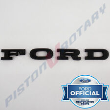 FORD Bonnet Letter Badge Set black for XC Falcon GS GXL coupe cobra letters hood