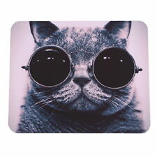 Cat Picture Anti-Slip Laptop PC Mice Pad Mousepad For Optical Laser Mouse J#~