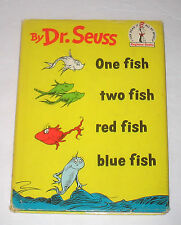 ONE FISH TWO FISH RED FISH BLUE FISH Dr Seuss