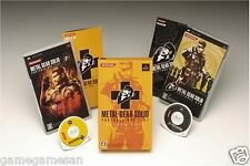Used PSP Metal Gear Solid Portable Ops + Deluxe Pack Japan Import