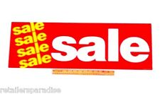 "CLOSEOUT! NEW FAMOUS STORE SALE POSTER 28"" LONG! RETAIL STORE WINDOW & WALL SIGN"