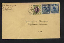 Hong Kong cover with China stamps to US   1931    MS0927