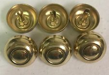 Handbag/ Luggage or Guitar Case  Bottom Studs Lot of 1000 Brass/gold