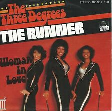 """The Three Degrees - The Runner / Woman In Love (7"""" Vinyl-Single Germany 1979)"""