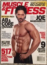 Muscle And Fitness Joe Manganiello Ab And Core September 2015 FREE SHIPPING