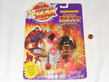 NEW Mighty Max Battle Max Challenge # 3 LAVA BEAST Toy Action Figure Set three