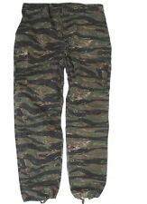 US Army Feldhose Vietnam Tiger Stripe Fieldtrouser Jungle Pants M64 -L Marines
