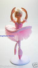 "SUGARPLUM FAIRY! Ballet Dancer Nut Cracker Pink Ballerina 9"" Annalee Doll NEW!"