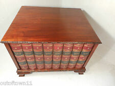 Mock Book Collectors Cabinet , Chest of Drawers    ref 1726